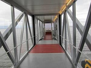 Пассажирский Мост-Трап FMT для порта «Морской фасад» – первый в России