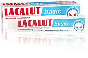 LACALUT basic - новинка в линейке немецких зубных паст LACALUT