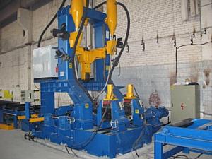 На заводе Металлоконструкций Компания Управление Строительства – 620 в полную мощность заработала автоматизированная линия по производству сварной двутавровой балки