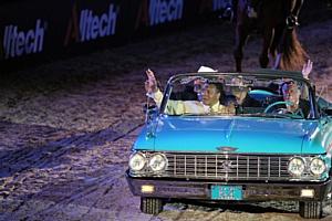 Открытие Всемирных конных Игр Alltech-FEI 2010
