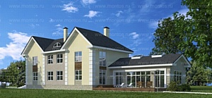 Монтос Дом представил два особняка для преуспевающих людей
