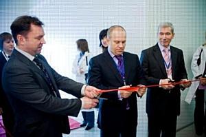 Открытие завода по производству пластиковых карт Алиот