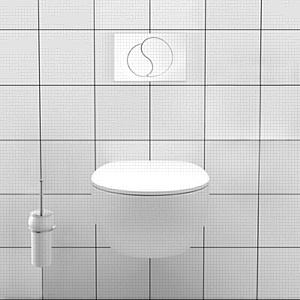 Новинка IDDIS: система инсталляции для подвесного унитаза