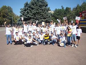 В Азове сыграли в сити-квест «Друзья Азов»