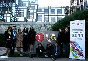 Участники Всероссийского образовательного молодёжного форума «Селигер-2011» посетили штаб-квартиру LG Electronics в рамках образовательного тура