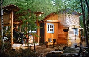 Строительство дома из натуральных материалов