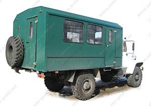 Запуск производства вахтовых автобусов на базе автомобилей ГАЗ