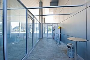 Астарта престиж обустроила уличные помещения для курения