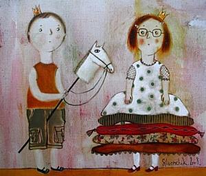 """Выставка живописи или сеанс сказкотерапии. """"Сказки для взрослых"""" новая экспозиция в галерее Тиоиндиго"""