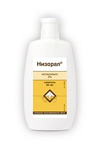 Низорал® – шампунь №1*, который лечит причину перхоти!