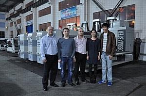 Grossmaster-1225 («JinChang Machinery») отправился на ООО «Фабрика Коробок»