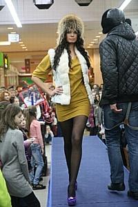 Центр торговли «Дарынок» провел модный показ коллекции осень-зима 2011/2012