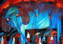 """Выставка """"Я родом из детства"""" студии Натальи Шалиной"""