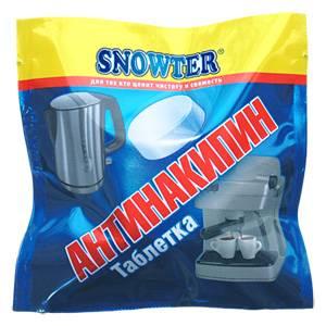SNOWTER новинка - антинакипин в таблетках