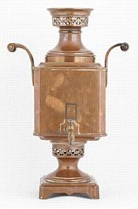 Самовары XIX века пополнили известную антикварную коллекцию  Михаила Борщева