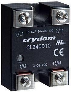 АВИТОН: Новая серия CL твердотельных реле общего назначения от Crydom