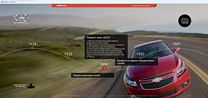 AdWatch Isobar и Chevrolet ведут урок истории на Afisha.ru