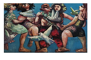 """Персональная выставка известного художника-«восьмидесятника» Льва Табенкина """"Вот девушка красивая..."""""""