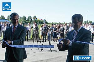 Открытие нового завода Lindab-Astron в Ярославле