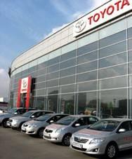 Один из крупнейших дилерских центров Toyota в Санкт-Петербурге открывает мир безопасности «Аркан»