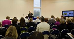 Директор по ресурсам TABLOGIX Борис Теклин рассказал студентам ВШЭ о процессах привлечения персонала на складской терминал