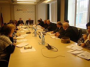 В Воронежэнерго состоялось совместное заседание Совета ветеранов и профкома филиала