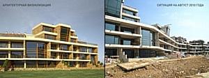 ЗАО «Алкон-Трейд-Систем» завершила работы по остеклению апартаментов гольф-клуба Пестово