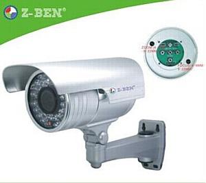 Выход новой камеры видеонаблюдения ZB-9067TOS высокой чувствительности 0,0001Lux и разрешением 600TVL