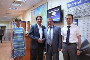 Успешные переговоры с компанией MERLIN
