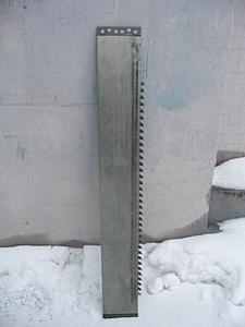 Изготавливаем и продаем рамные пилы толщиной 2,5 мм