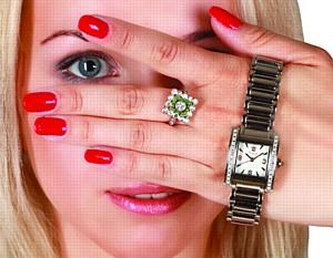 Watch - подиум в России. Показ новой коллекции часов Romanoff