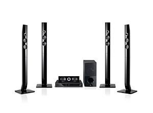 Стильный домашний кинотеатр LG HB906TA обеспечивает непревзойдённое качество звучания