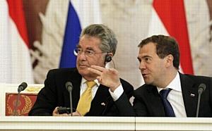 Компания SCHALLER LEBENSMITTELTECHNIK® на австрийско-российском Экономическом Форуме в рамках визита президента Австрии в Россию