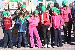 Скаутское ралли в Гимназии №42 города Кемерово