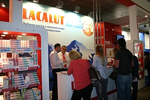Lacalut на выставке «DENTAL SALON 2011»