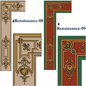 Американская студия дизайна представляет орнаменты и узоры для натяжных потолков Cerutti ST