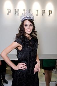 «Мисс Россия 2010» Ирина Антоненко стала лицом рекламной кампании дизайнера PHILIPP PLEIN