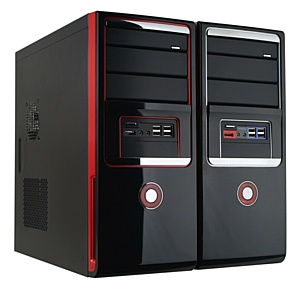 Компьютерные корпуса HKC 7041DD и 7041DR