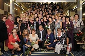 Пост-материал Деловой Прием учителей России - 2011