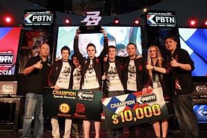 Российcкая команда одержала победу в международном  чемпионате по Point Blank
