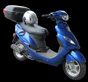Курьеры на скутерах – новый проект компании СПСР-ЭКСПРЕСС