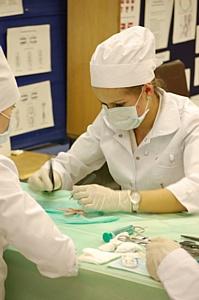 В Москве при поддержке компании «Этикон» состоялась Осенняя Всероссийская и стран СНГ межвузовская студенческая олимпиада по технике хирургических операций