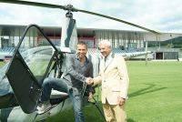 «Jacques Lemans» и знаменитый пилот Ханнес Арх выпустят уникальные часы