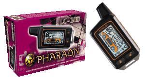 Автомобильная охранная система с двусторонней связью PHARAON LC-100