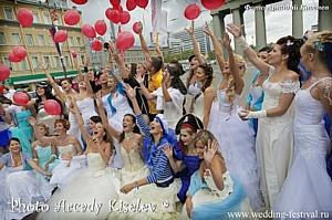 Белые ночи в Петербурге открыл III «Wedding Festival»