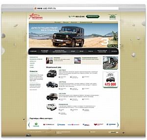 Внедорожники на новом сайте «Мега Моторс»