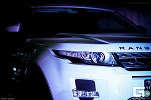 �������� Range Rover Evoque ���������� � ���������� ��� ��������� �������-����
