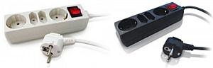 Универсальные удлинители PC PET: черное и белое