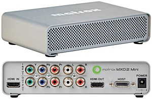 Отзыв об использовании Avid Media Composer 5 и Matrox MXO2 mini