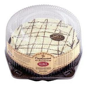 В продажу поступил новый торт TM Mirel — «Сметанник по-домашнему».